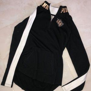 UCF quarter zip